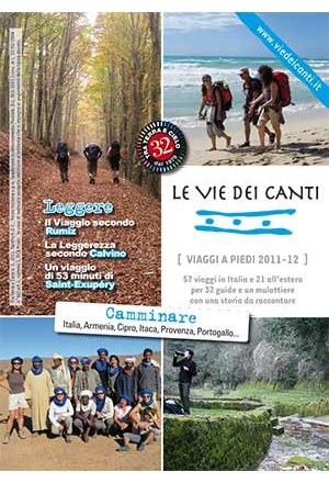 Le Vie dei Canti - I viaggi a piedi 2011-12