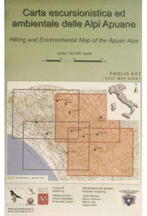 Carta escursionistica e ambientale delle Alpi Apuane