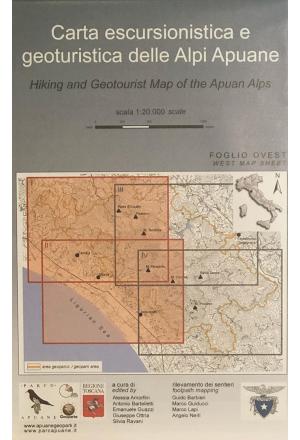 Carta escursionistica e geoturistica delle Alpi Apuane